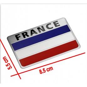 Carte de la France National Flag 3D Car Sticker Aluminium Citroën Peugeot Renault Venturi Bugatti Amilcar Heuliez