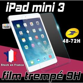 Film de protection Ecran Verre Trempé renforcé Apple iPad Mini 3 Film tempered ipad mini 3 4g