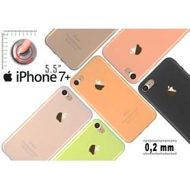 """Coque Extra Fin Pour iphone 7+ Plus 5,5"""" doux anti-d'empreinte doigt Promo"""