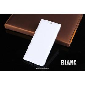 Housse Etui Flip Cover BLANC Pour Apple iPhone 8