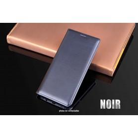 Housse Etui Flip Cover NOIR Pour Samsung Galaxy S7 SM-G935 SM-G930