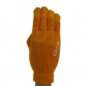Gants Tactile iGlove Orange iPhone Galaxy HTC Smartphone Tablette
