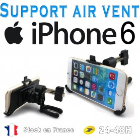 Support Auto Air Vent Grille Aération Apple iphone 6