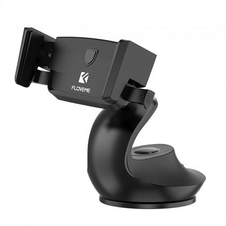 Support Voiture NOIR Floveme One-Touch Verrouillage Auto Confort Opérations un main