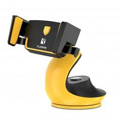Support Voiture JAUNE & NOIR Floveme One-Touch Verrouillage Auto Confort Opérations un main