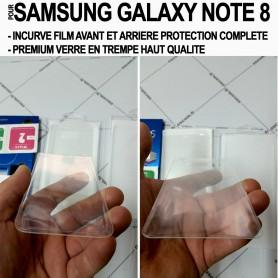 Pour Samsung Galaxy Note 8 Film Protection Ecran Verre Trempé Avant Arriere Premium
