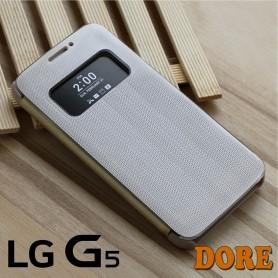 Smart View Cover Doré LG G5 Film Protection Port 48h Offert