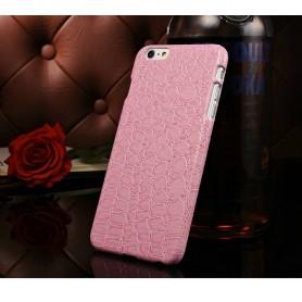 """Etui Rosé Motif Alligator Iphone 6 Plus 5.5"""""""