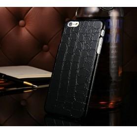 """Etui Noir Motif Alligator Iphone 6 Plus 5.5"""""""