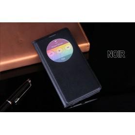 Etui S view Cover Noir Pour LG G3 Quick Circle