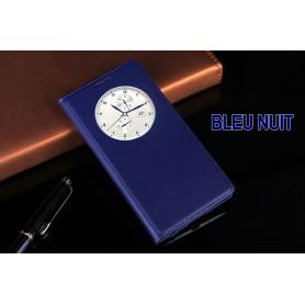 Etui S view Cover BLEU NUIT Pour LG G3 Quick Circle