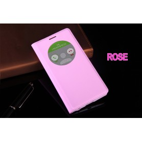 Etui S view Cover ROSE Pour LG G3 Quick Circle