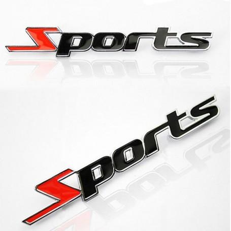 Nouveau métal 3d car auto stickers sport style autocollant décorations véhicules sports