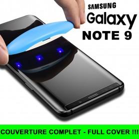 Pour Samsung Galaxy Note 9 Nano liquide UV Film Verre en Trempe Ecran 3D Full Cover