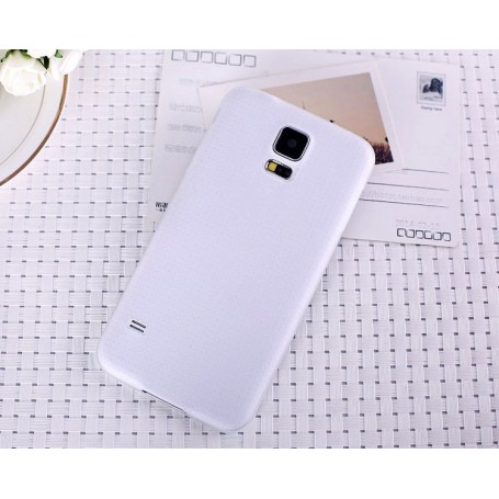 Samsung Galaxy S5 Mini Housse Étui BLANC Extra Fin 0,2 mm