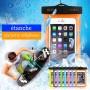 """Sac Étanchéité 5-6"""" Pouces BLEU iPhone 6s Plus Galaxy Note Edge s7"""