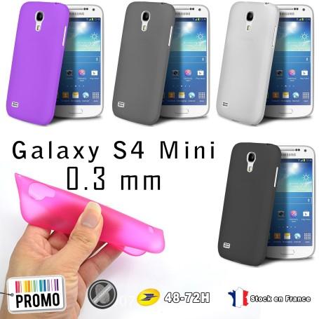 Samsung Galaxy S4 Mini Housse Etui Extra Fin 0,3 mm