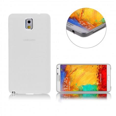 Samsung Galaxy Note 3 Housse Étui Blanc Extra Fin 0,3 mm (n9005)