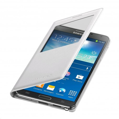 Etui S-View Blanc Cover Samsung Galaxy Note 3