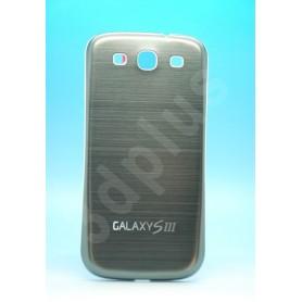 Batterie Cache Alu Brossé Gris Samsung Galaxy S3