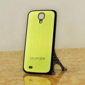 Pour Samsung Galaxy S4 i9505 Batterie Cache Alu Brossé Noir-Doré