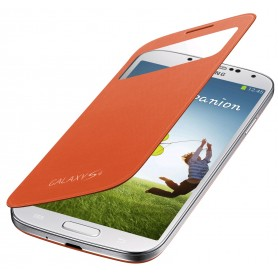 Etui S-View Cover Samsung Galaxy S4 Orange