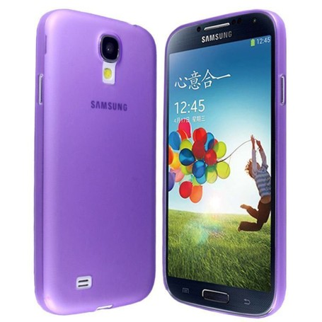 Samsung Galaxy S4 Housse Étui Violet Extra Fin 0,3 mm