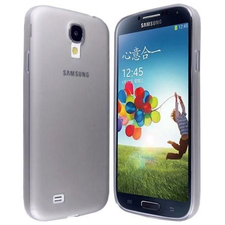 Samsung Galaxy S4 Housse Étui Gris Extra Fin 0,3 mm