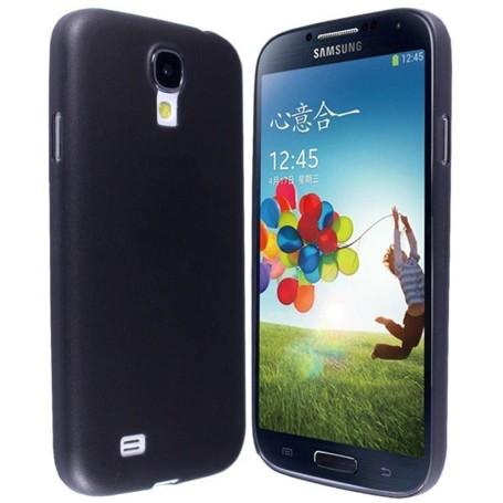 Samsung Galaxy S4 Housse Étui Noir Extra Fin 0,3 mm