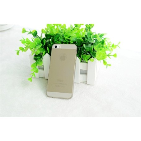 Apple Iphone 5 Housse Étui Gris Extra Fin 0,3 mm (A1428)