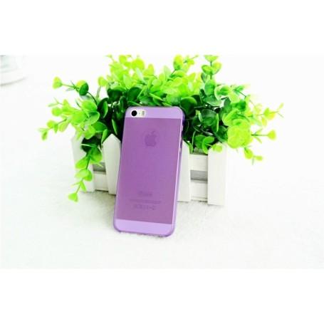 Apple Iphone 5 Housse Étui Violet Extra Fin 0,3 mm (A1428)