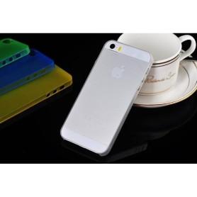 Apple Iphone 5 Housse Étui Blanc Extra Fin 0,3 mm (A1428)