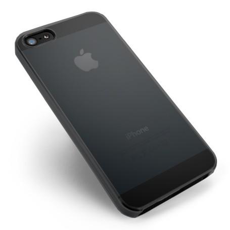 Apple Iphone 4s Housse Étui Noir Extra Fin 0,3 mm (A1387)