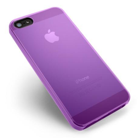 Apple Iphone 4s Housse Étui Violet Extra Fin 0,3 mm (A1387)