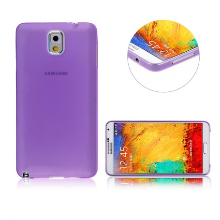 Galaxy Note 3 Housse Étui Violet Extra Fin 0,3 mm (n9005)