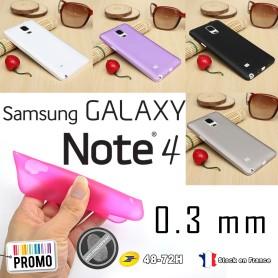Samsung Galaxy Note 4 Housse Etui Extra Fin 0,3 mm SM-910F