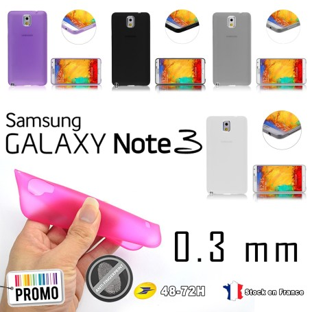 Samsung Galaxy Note 3 Housse Etui Extra Fin 0,3 mm N9005