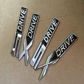X Drive Métal Chrome Argent Emblème de voiture autocollant Stickers pour BMW X1 X2 X3 X4 X5 X6 X7