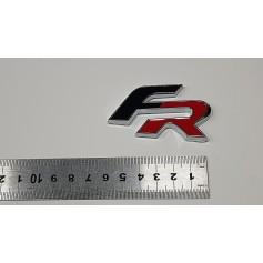 Noir Rouge SEAT FR Métal Voiture Emblème 3D Badge Sticker Auto Décoration