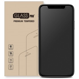 LOT 2X Film de Protection Verre en Trempe MAT pour iPhone XR 9H
