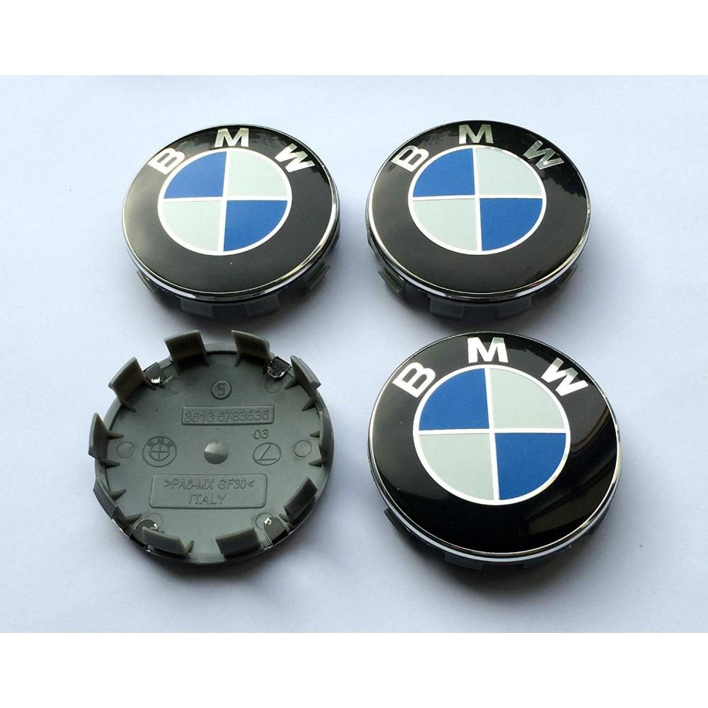 4 Cache Moyeu BMW M Sport Logo Centre De Roue 68mm