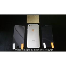"""4x Film Avant et Arrière iphone 8 4.7""""pouces Brillante Transparente"""