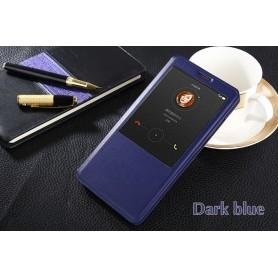 Etui Flip S view Cover Bleu Nuit Huawei Ascend Mate 7