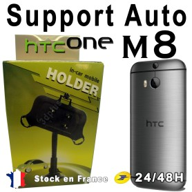 Support Voiture Pare-Brise Ventouse HTC One 2 M8
