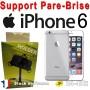 Support Voiture Pare-Brise Fixation Ventouse Apple iphone 6