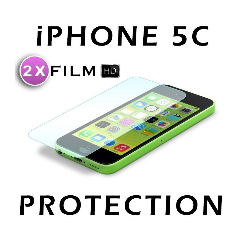 2X Film Protection HD Apple Iphone 5C