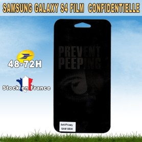 "Film protection Samsung Galaxy S4 ""Espion & Privacy """