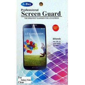 2x Film Protection HD Samsung Galaxy Note 1