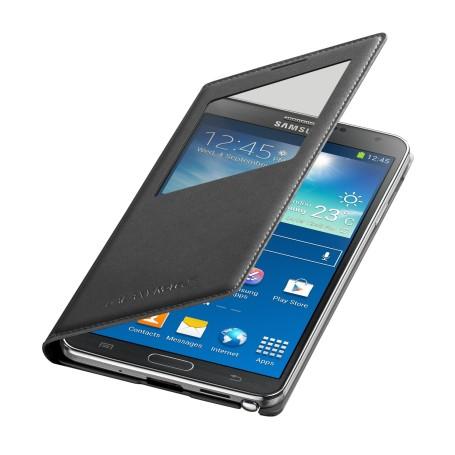 Etui S-View Noir Cover Samsung Galaxy Note 3 SM-N9005