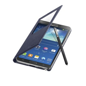 Etui S-View Cover Bleu Nuit Samsung Galaxy Note 3 SM-N9005